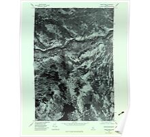 Maine USGS Historical Map Pierce Pond 807031 1979 24000 Poster