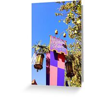 Fantasy Faire Greeting Card