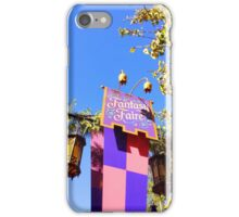 Fantasy Faire iPhone Case/Skin