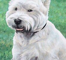 White West Highland Terrier by Nicole Zeug
