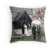 After the Ceremony Throw Pillow