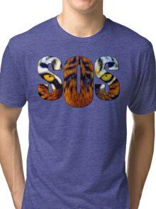 SOS - Tiger Tri-blend T-Shirt