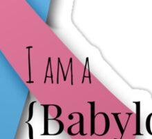 I am a {babyloss} SURVIVOR Sticker