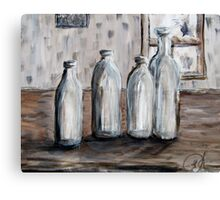 I did not bottle out of painting this one. Canvas Print