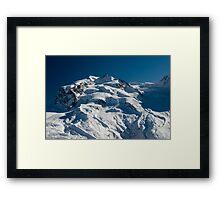 Monte Rosa  Framed Print