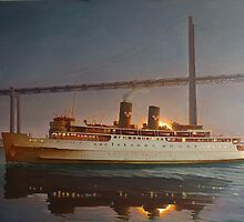 The Oil Painting of Princess Patricia Ship by rtouve