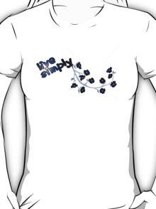 Live Simply - branch T-Shirt