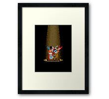 Five Nights at Freddy's 3 - Pixel art - What can we use? - Box of animatronics Framed Print