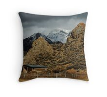Hard Tack Ranching Throw Pillow