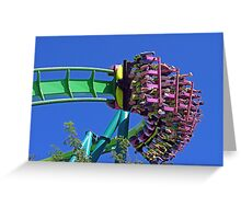 Man I Hope I Am Strapped In! Greeting Card