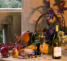 Autumn Wine and Cheese by Cathy P. Austin