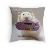 "I love to sing ""Jingle Bells..."" Throw Pillow"