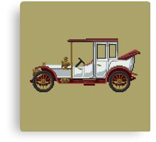 The king classic car Canvas Print