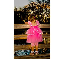 Princess in tennis-shoes Photographic Print