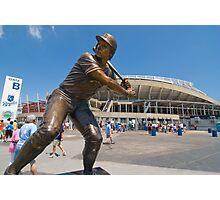 George Brett statue, Kauffman Stadium Photographic Print