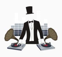 DJ Gramophone Kids Tee