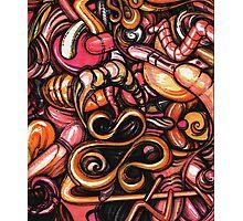 ink doodle III Photographic Print