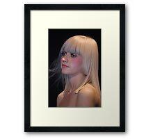 Blond dream Framed Print