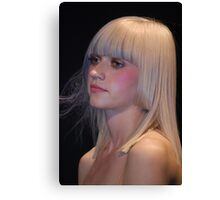 Blond dream Canvas Print