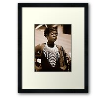 Yes I can ! Framed Print