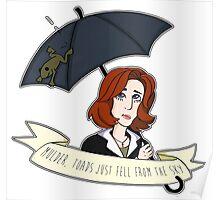 Toads Mulder! V2 Poster
