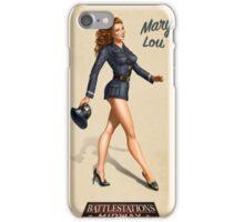 Battlestation Midway Pin Up iPhone Case/Skin
