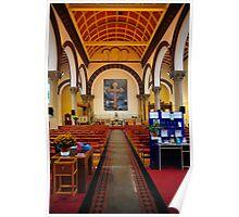 St Luke's Church Interior Poster