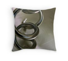 Twisty Mixer Throw Pillow