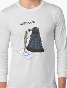 Dalek Hobbies | Dr Who Long Sleeve T-Shirt