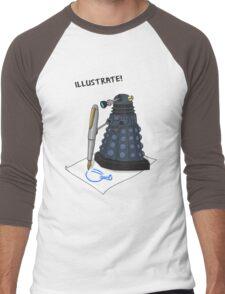 Dalek Hobbies | Dr Who Men's Baseball ¾ T-Shirt