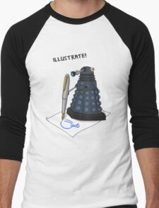 Dalek Hobbies | Dr Who Men's Baseball ¾ T-Shirt