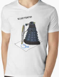 Dalek Hobbies | Dr Who Mens V-Neck T-Shirt