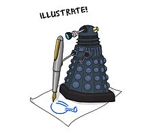 Dalek Hobbies | Dr Who Photographic Print