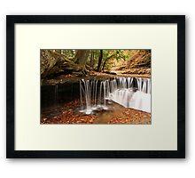 Autumn Riffles Framed Print