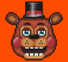 Five Nights at Freddy's 2 - Pixel art - Blue eyes Toy Freddy Kids Clothes
