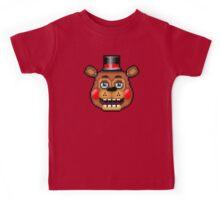 Five Nights at Freddy's 2 - Pixel art - Blue eyes Toy Freddy Kids Tee