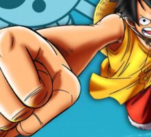 One Piece - Luffy Sticker
