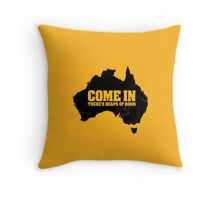 F@#k off, bogans /alternate Throw Pillow
