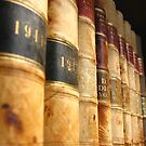 Early 1900 Law Books Perspective Shot by John Kroetch