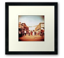 Shoot the Freak Framed Print