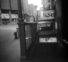 NYC Subway by RikkiB
