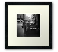 NYC Subway Framed Print