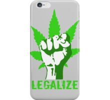 LEGALIZE iPhone Case/Skin
