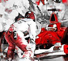 Formula 1 with Ferrari by Goodaboom