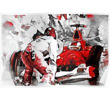 Formula 1 with Ferrari Poster