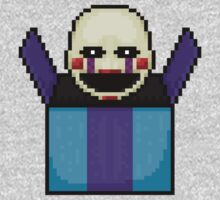 Five Nights at Freddy's 2 - Pixel art - The Puppet in the box Kids Clothes