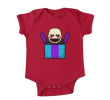 Five Nights at Freddy's 2 - Pixel art - The Puppet in the box One Piece - Short Sleeve