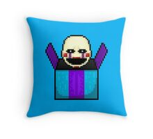 Five Nights at Freddy's 2 - Pixel art - The Puppet in the box Throw Pillow