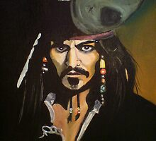 Captain Jack Sparrow by dave2157