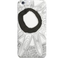 Chinese Ink with Doodle iPhone Case/Skin